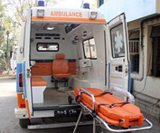 <p>Ambulances</p>